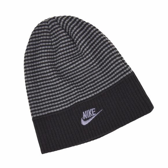 Nike OSFA Acrylic Knit Hat Double Logo